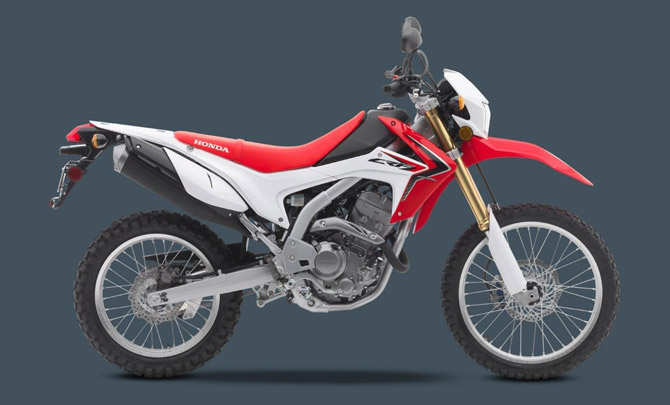 Greenways Motorcycle Rental Crete Rent An Enduro Crf 250 L Moto